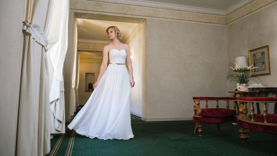 Brautkleid 20er Jahre Stil -Vintage Traumkleid
