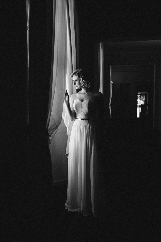 Brautkleid 20er Jahre Stil –Vintage Traumkleid mit Chiffonrock