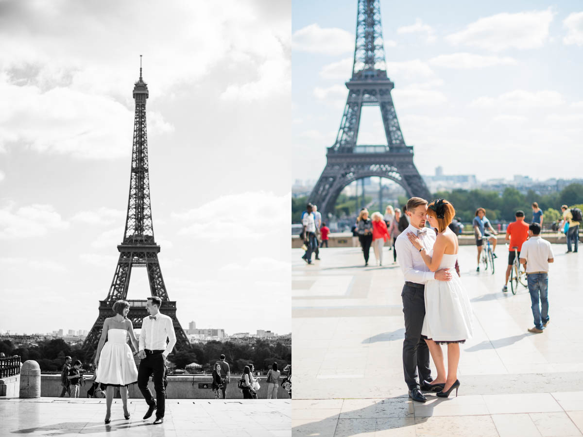 Ein Brautkleid in Paris