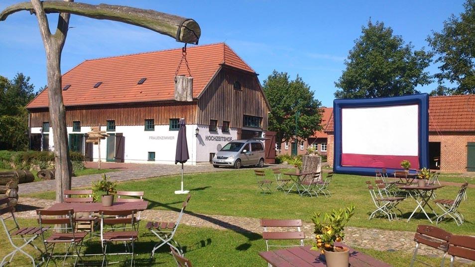 Brautmode Mecklenburg-Vorpommern Hochzeitshof Glaisin