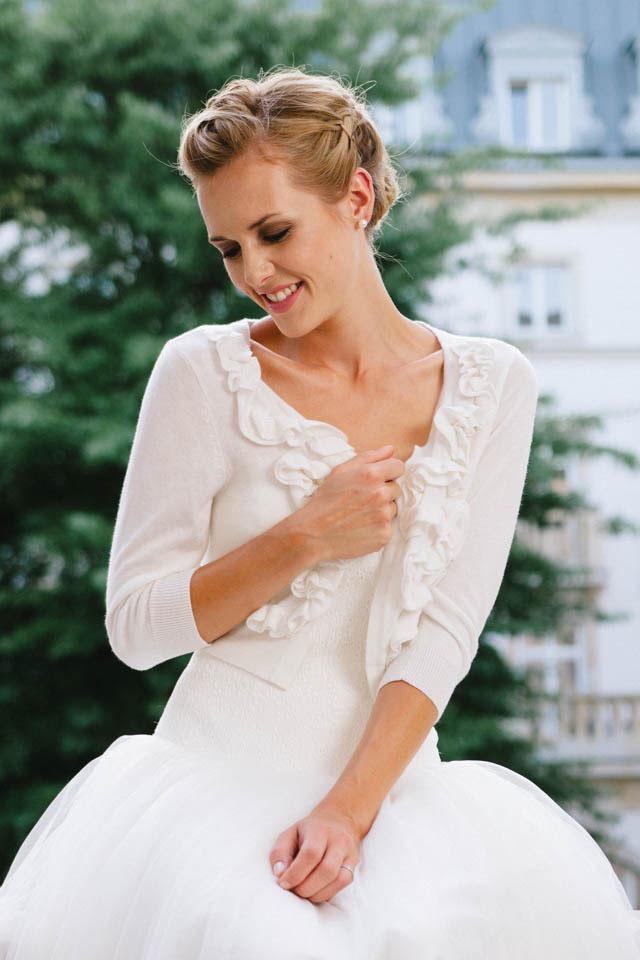 Freche, schlichte Hochzeitskleider für moderne Bräute