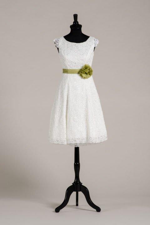 küssdiebraut Seidenband Brautblüte Moss