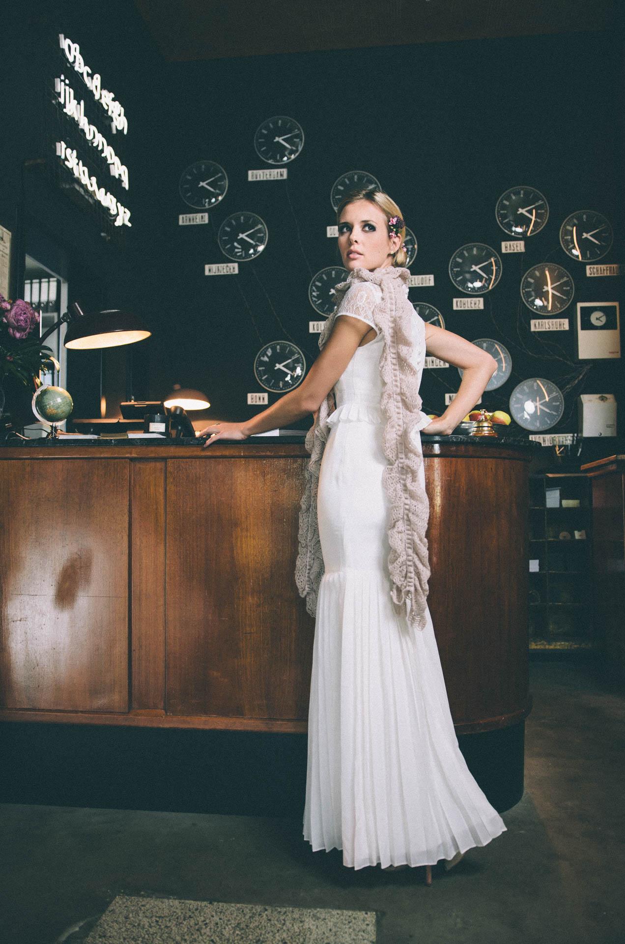 Vintage Brautkleid im 11er Jahre Stil – Mine · küss die braut