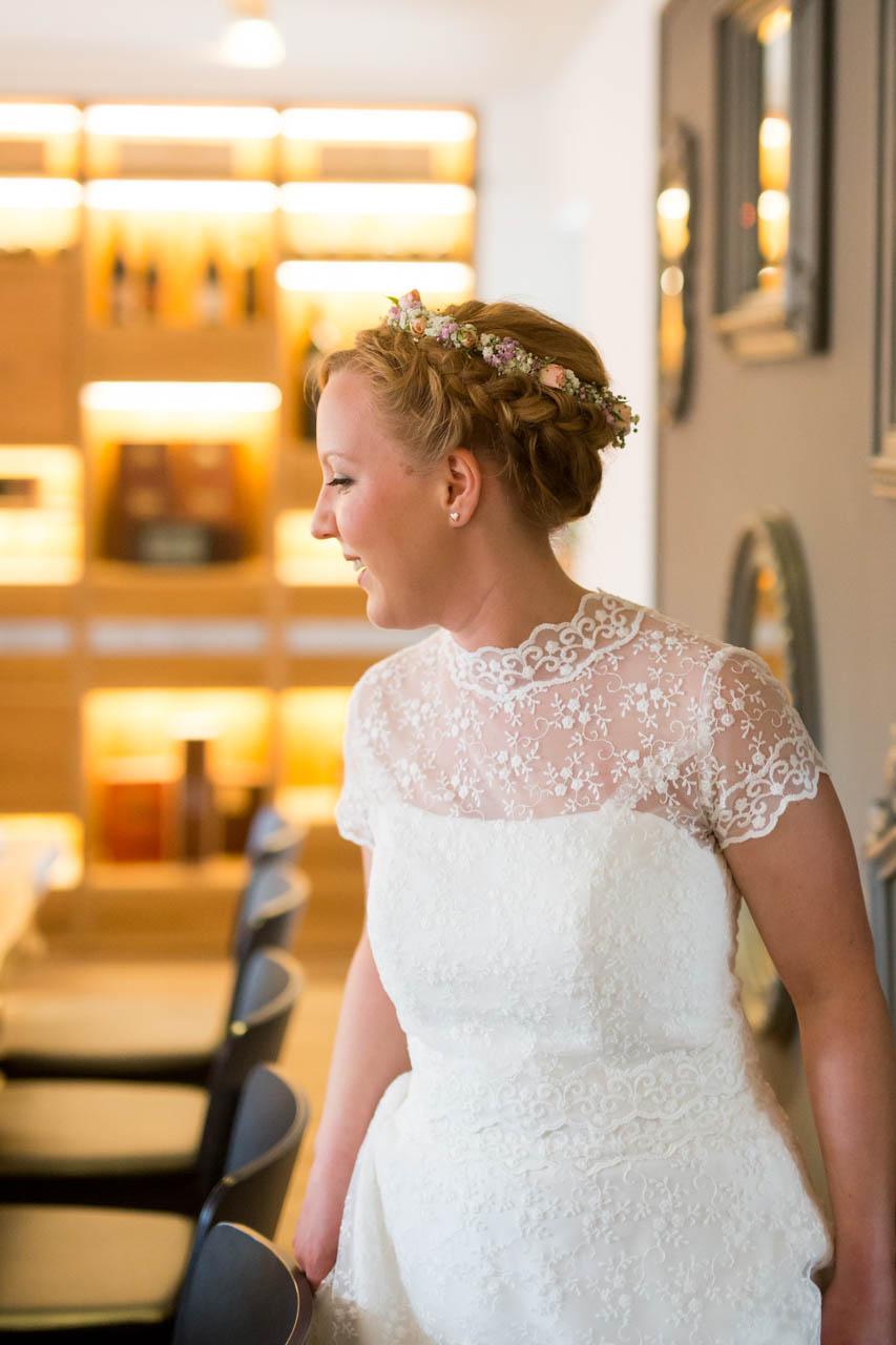 Hochzeitskleid Sue mit passendem Bolero