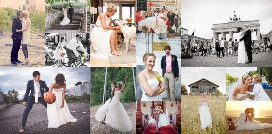 Real Brides – unsere lieben Bräute am Hochzeitstag