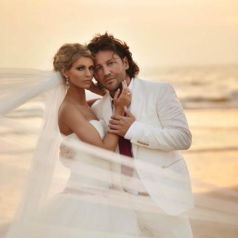 Traumhafte Strandhochzeit von Anja und Stefan