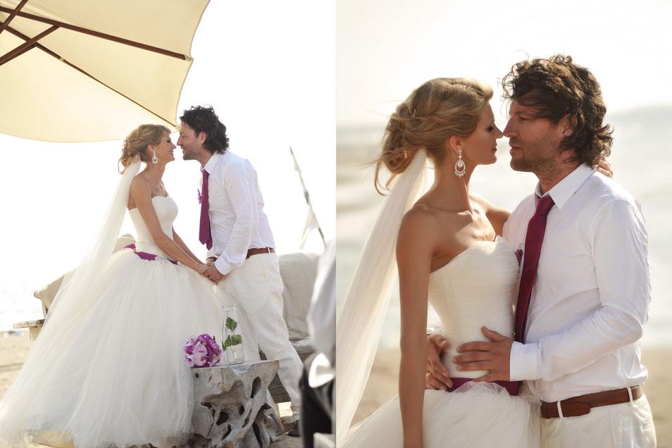 Strandhochzeit Anja und Stefan