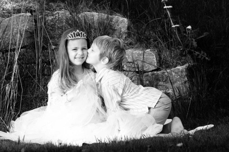 Brautkleid Kinder