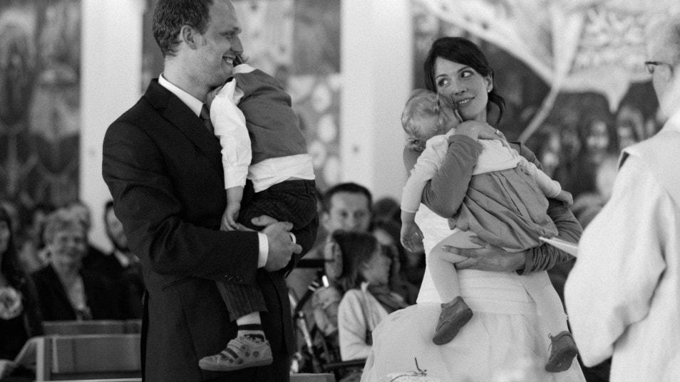 Ein Hochzeitstag voller freudiger Momente