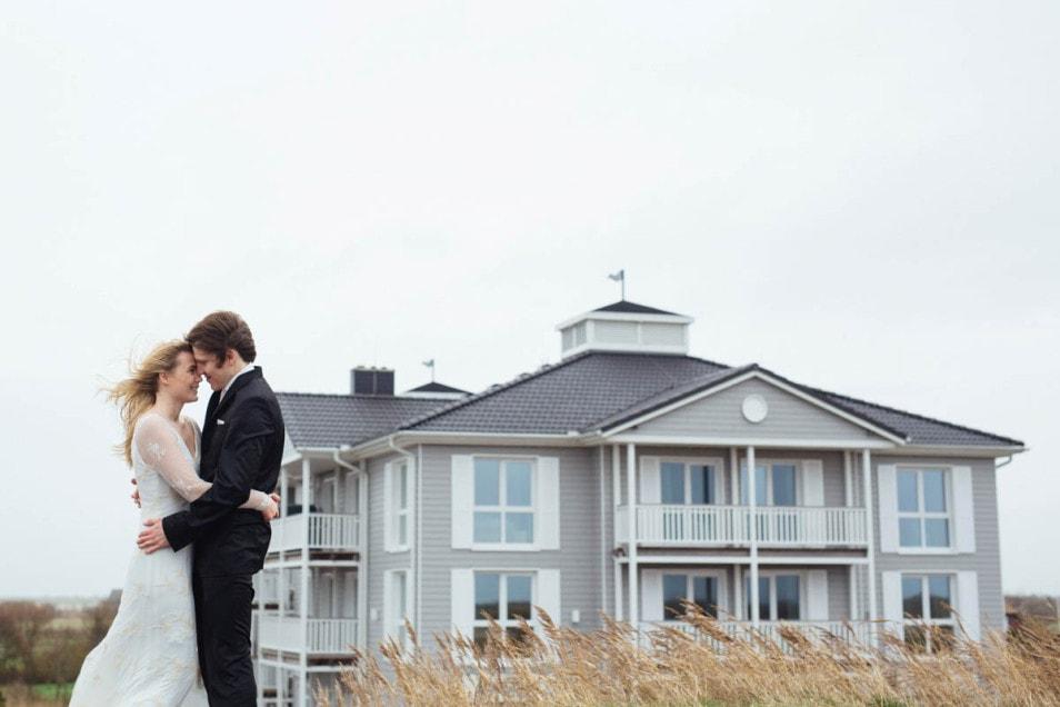 After wedding shooting Strand