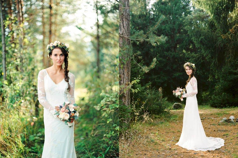 boho chic Hochzeitskleid