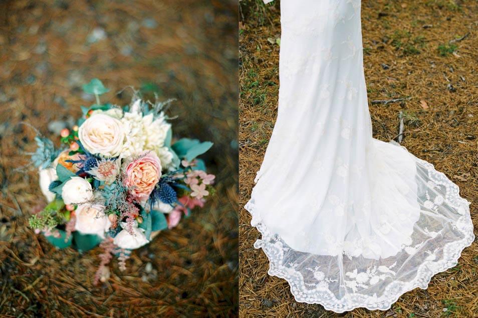 natürlich schönes Brautkleid