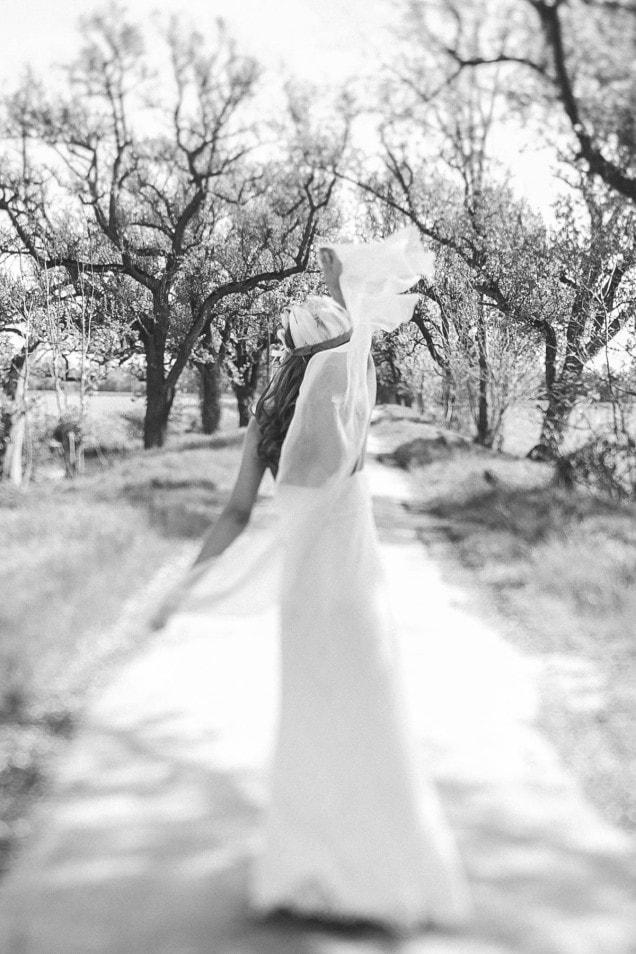 Boho Style Brautkleid