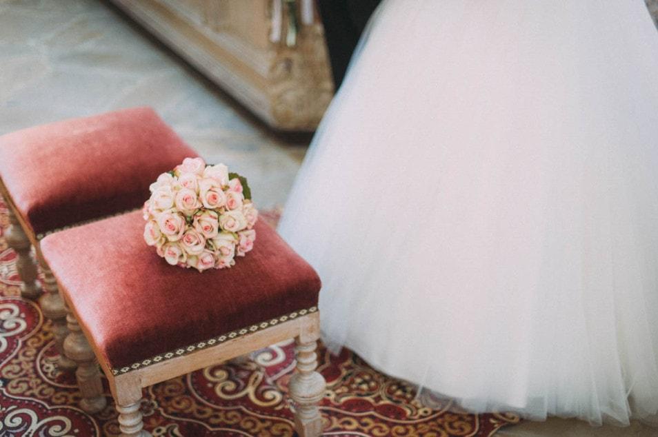 Brautstrauss aus Rosen