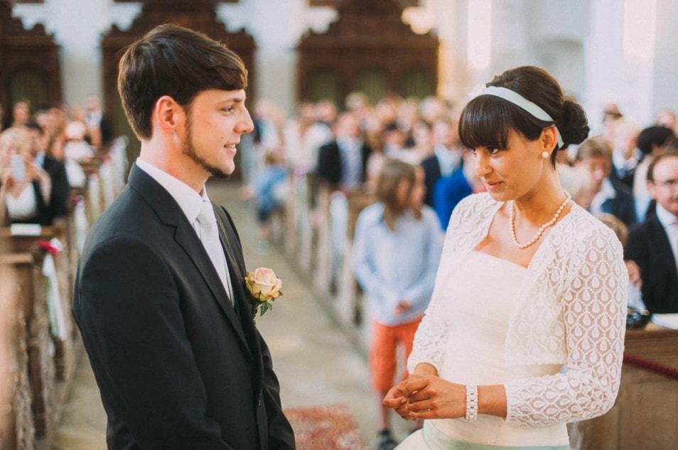 Die Braut sagt Ja