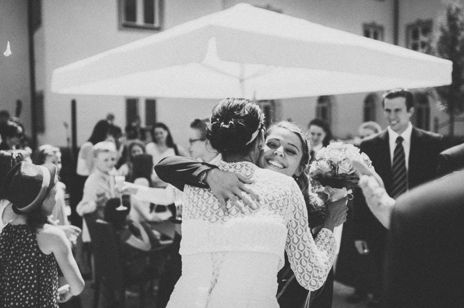 Glückwünsche an die Braut
