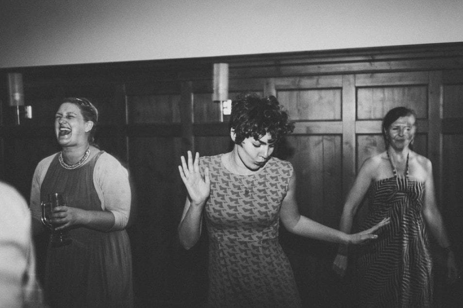 Hochzeitsparty Gäste tanzen