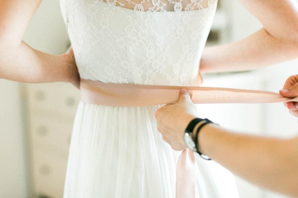 Getting Ready romantische Hochzeit