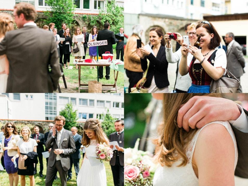 Hochzeitsfeier romantische Hochzeit
