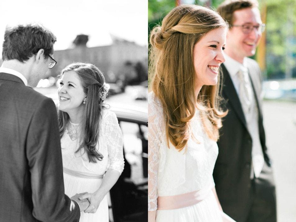 romantische Hochzeit Meet the Bride