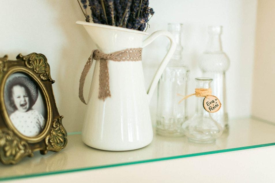 DIY Accessoires romantische Hochzeit