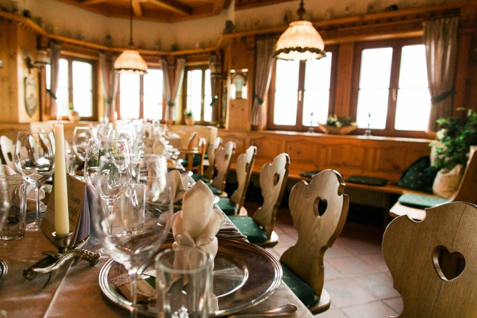 DIY Hochzeitstafel