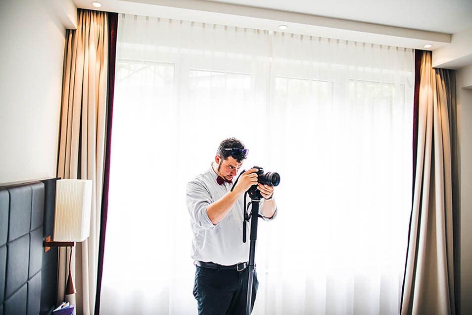 Alper Tunc dreht Hochzeitsvideo