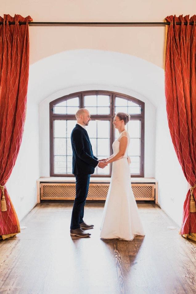 romantisches Wedding Shoot auf der Burg