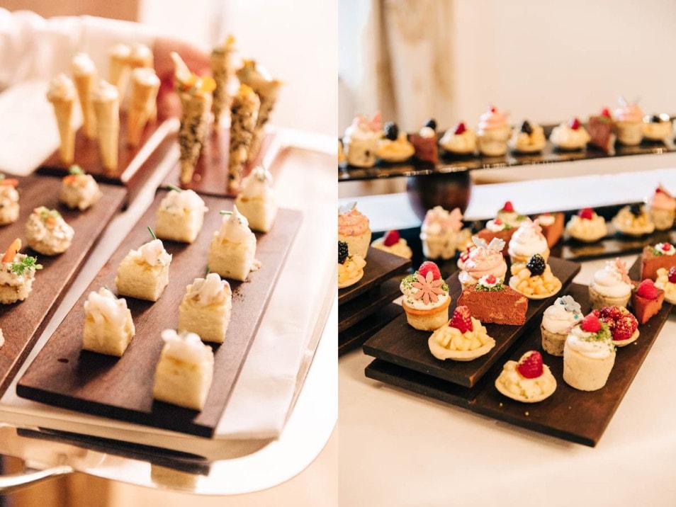 Fingerfood auf der Hochzeit