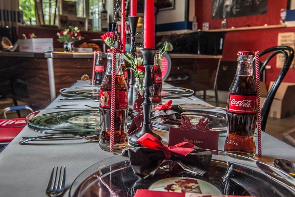 vintage coca cola flaschen zur hochzeit