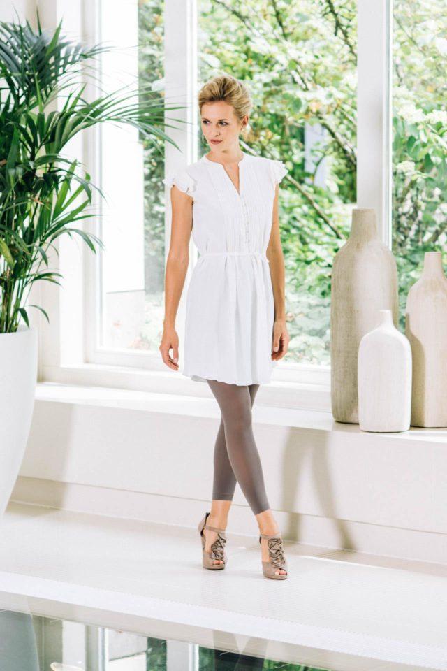 Brautkleid urban – Seidenkleid im casual Blusenstil für die moderne Braut – Yves