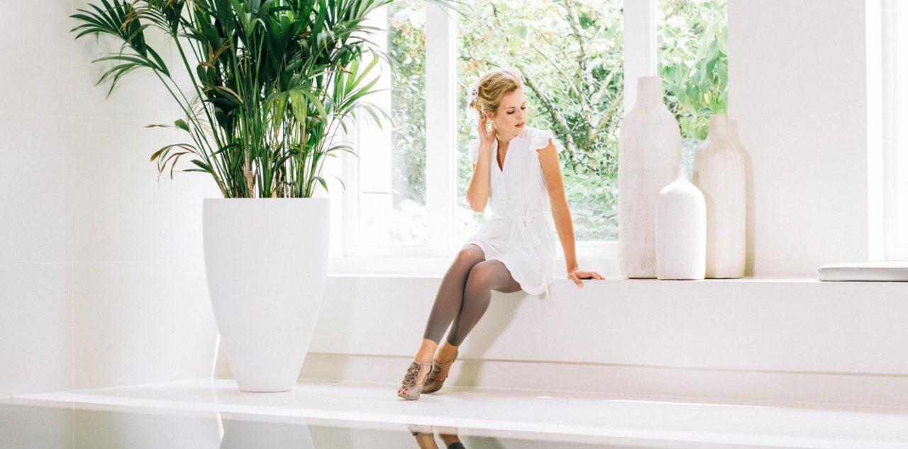 Brautkleid urban - Seidenkleid im casual Blusenstil für die moderne Braut
