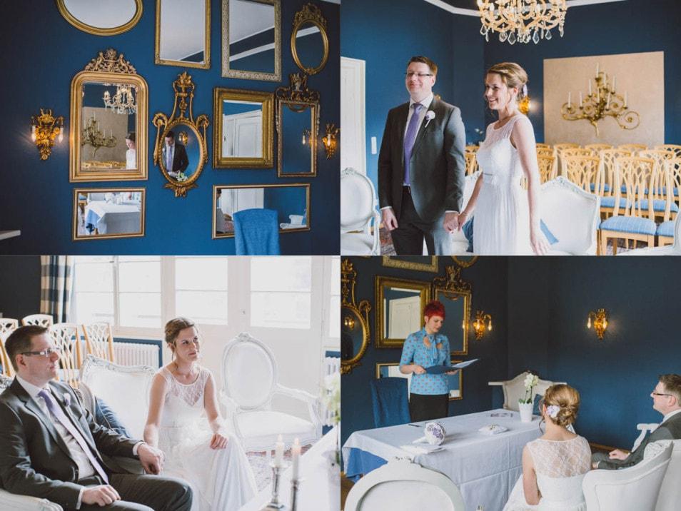 Hochzeit zu zweit - Trauung im Standesamt