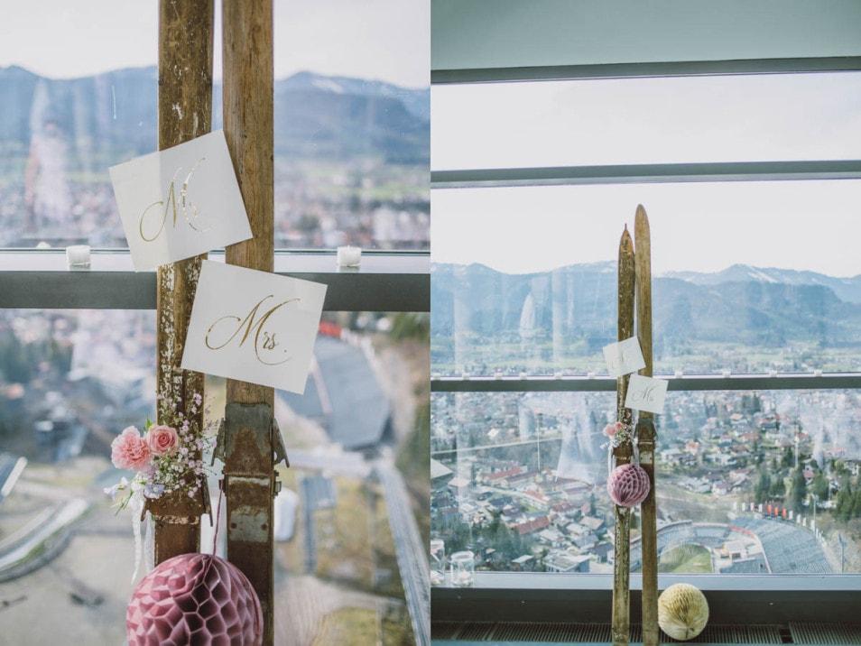 Vintage Ambiente zur Hochzeit