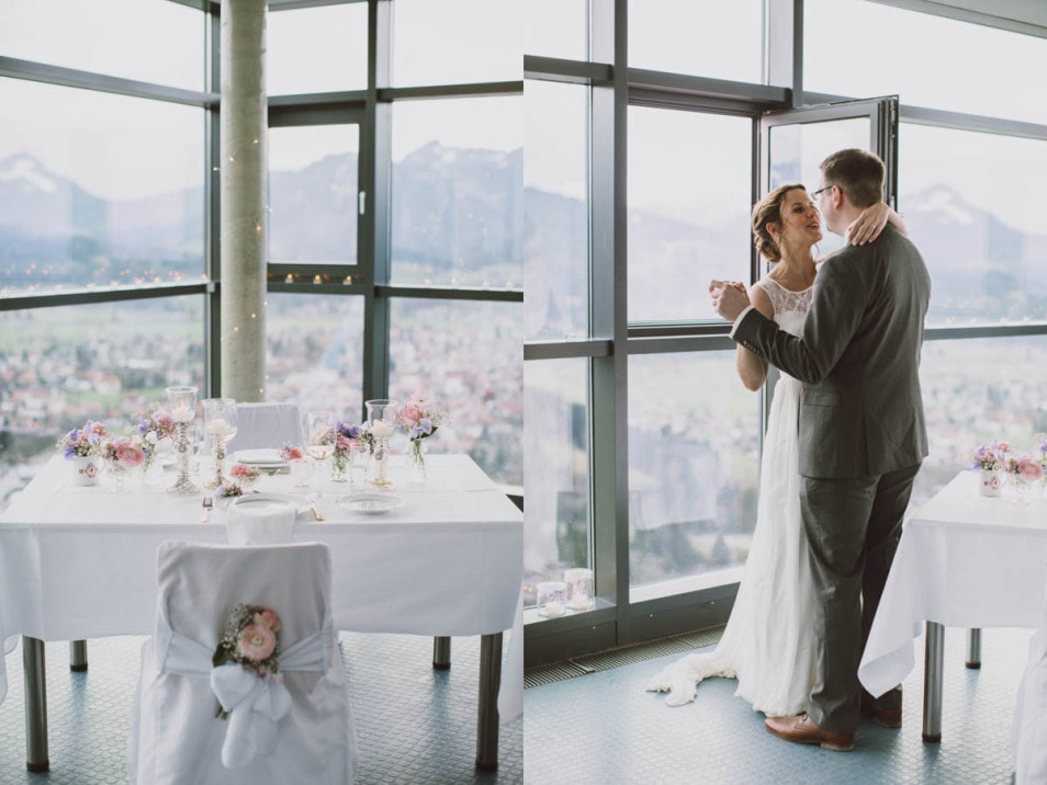 Hochzeit zu zweit - ein Fest der Liebe