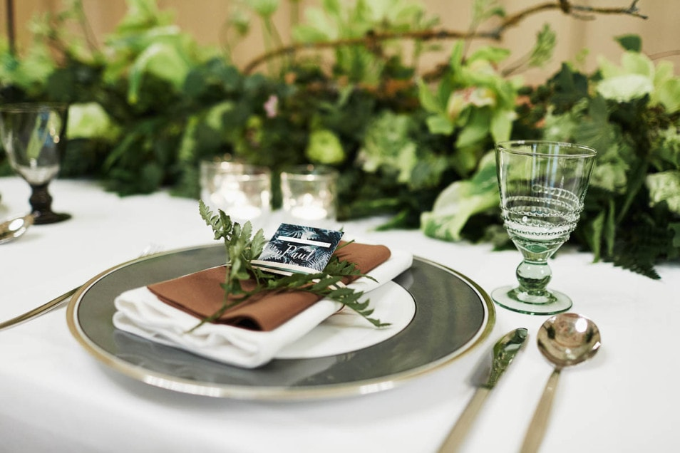 passende Papeterie zur Hochzeitsdeko Wald