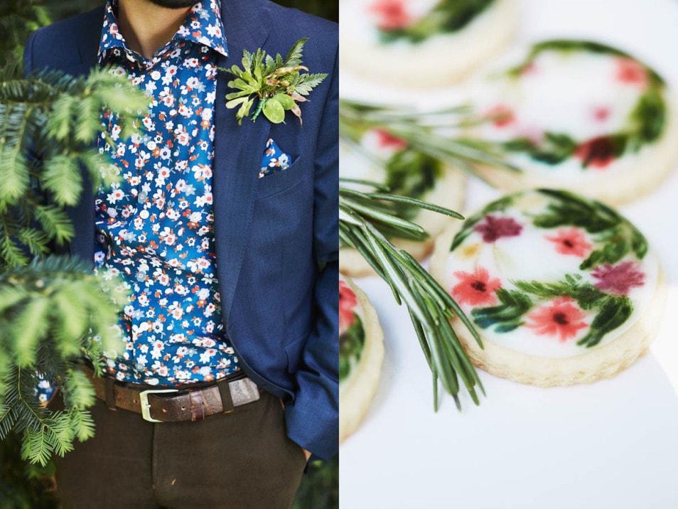 Styleshoot Hochzeitsdeko Wald
