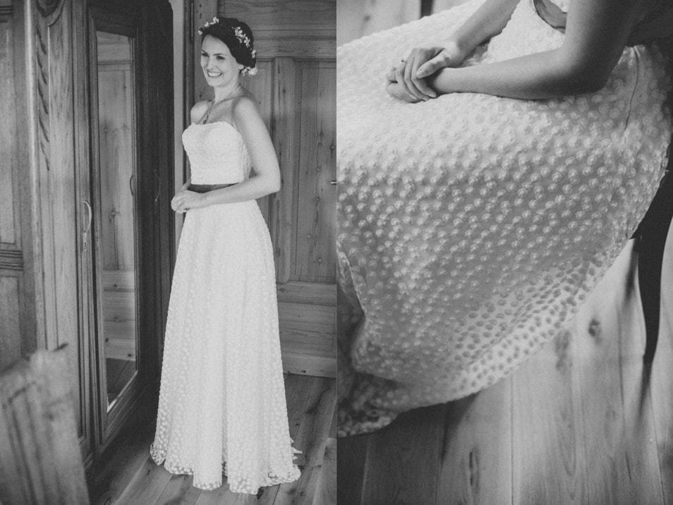 Real Bride in Brautkleid Schneeweisschen küssdiebraut
