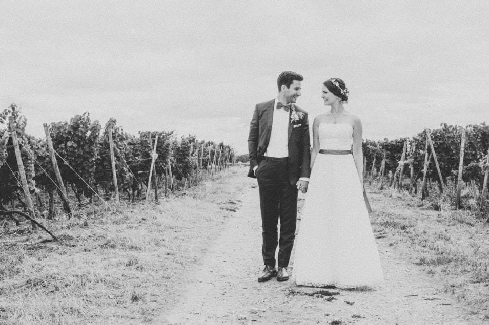Hochzeit im Freien Fotoshoot Brautpaar