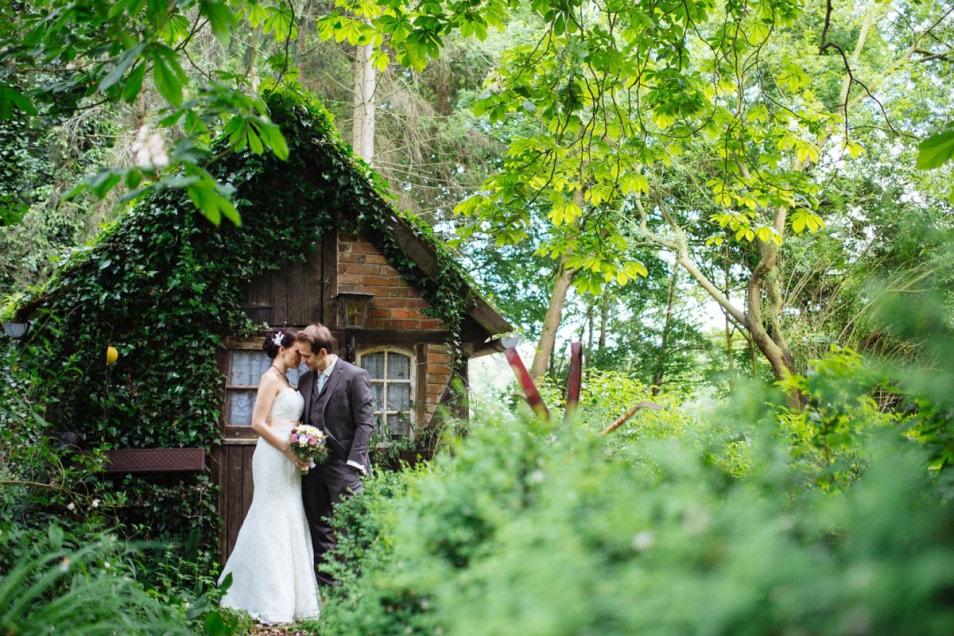 Verträumte Brautfotos