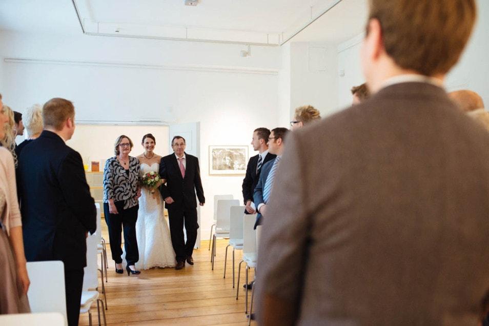 Hochzeit in kleinem Kreis
