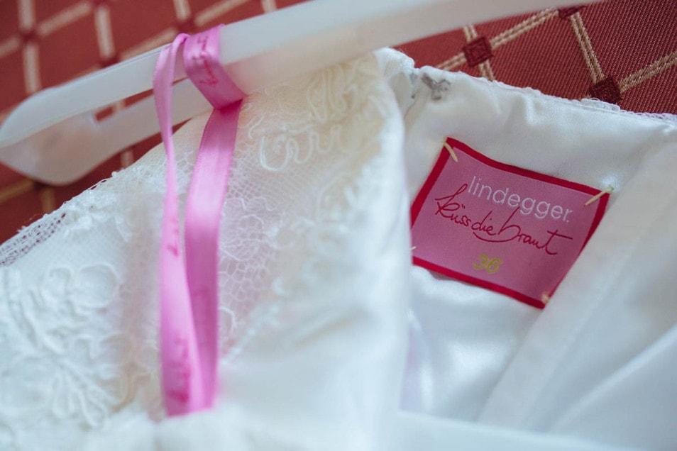 Hochzeitskleid vom Label küssdiebraut