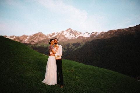Berghochzeit in der Schweiz – 2 Berge, 1 toller Tag!