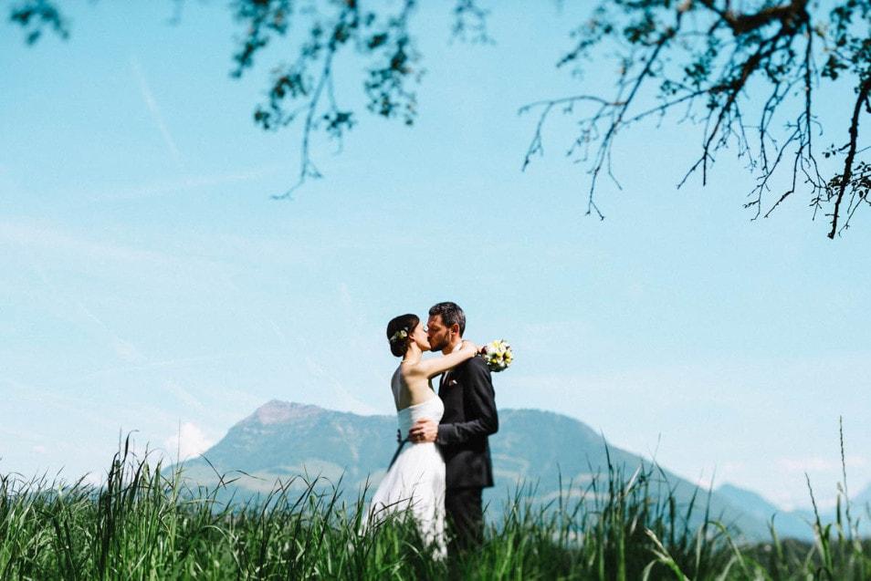 Ein Kuss für den Bräutigam