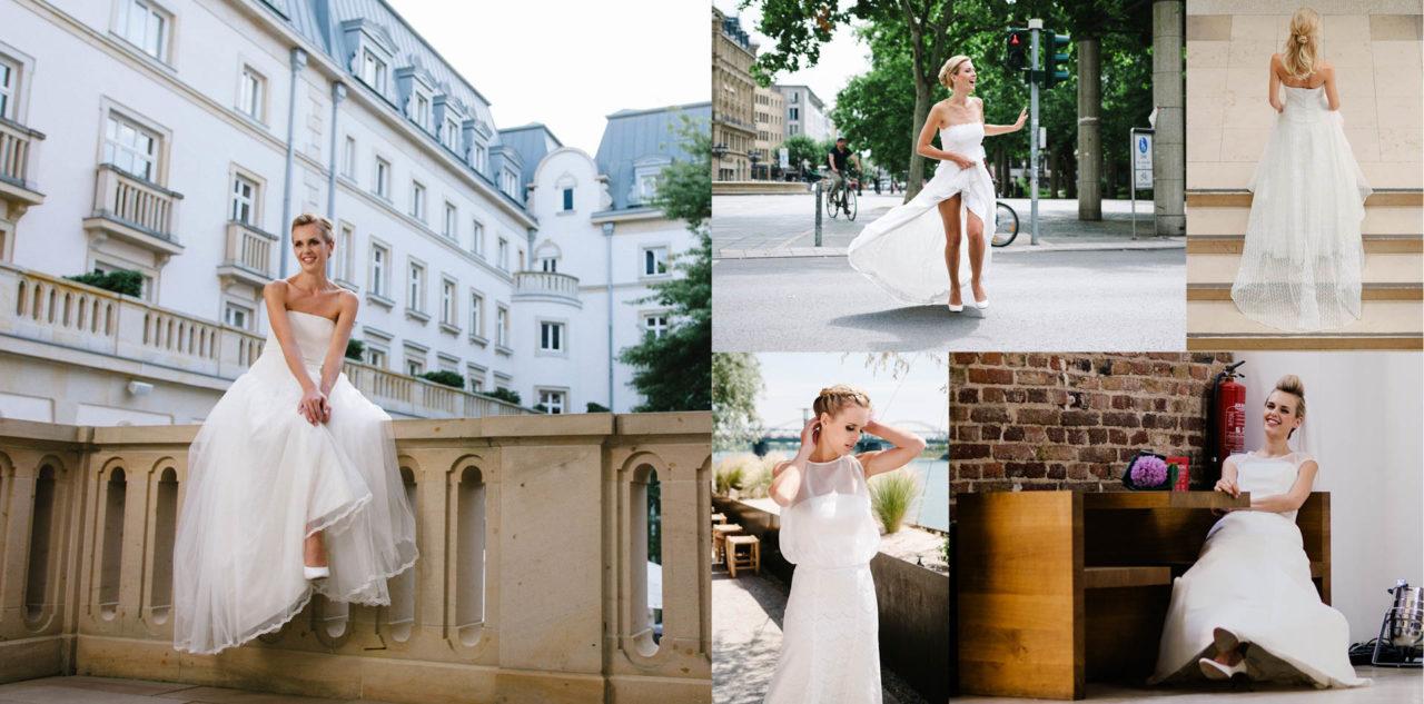 Schlichte Brautkleider - elegant zeitlos