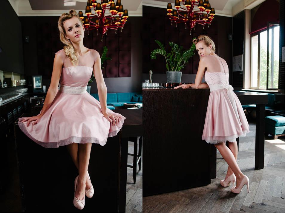kurze Brautkleider 50er Jahre Petticoat