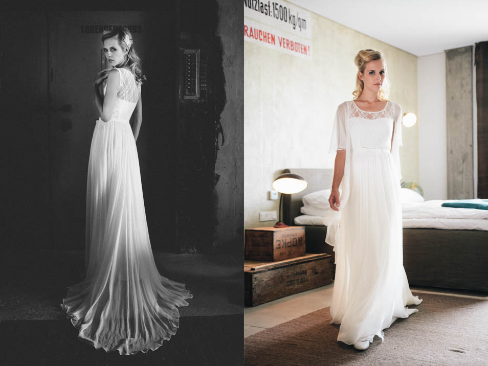 Hochzeitskleid kurz 20er