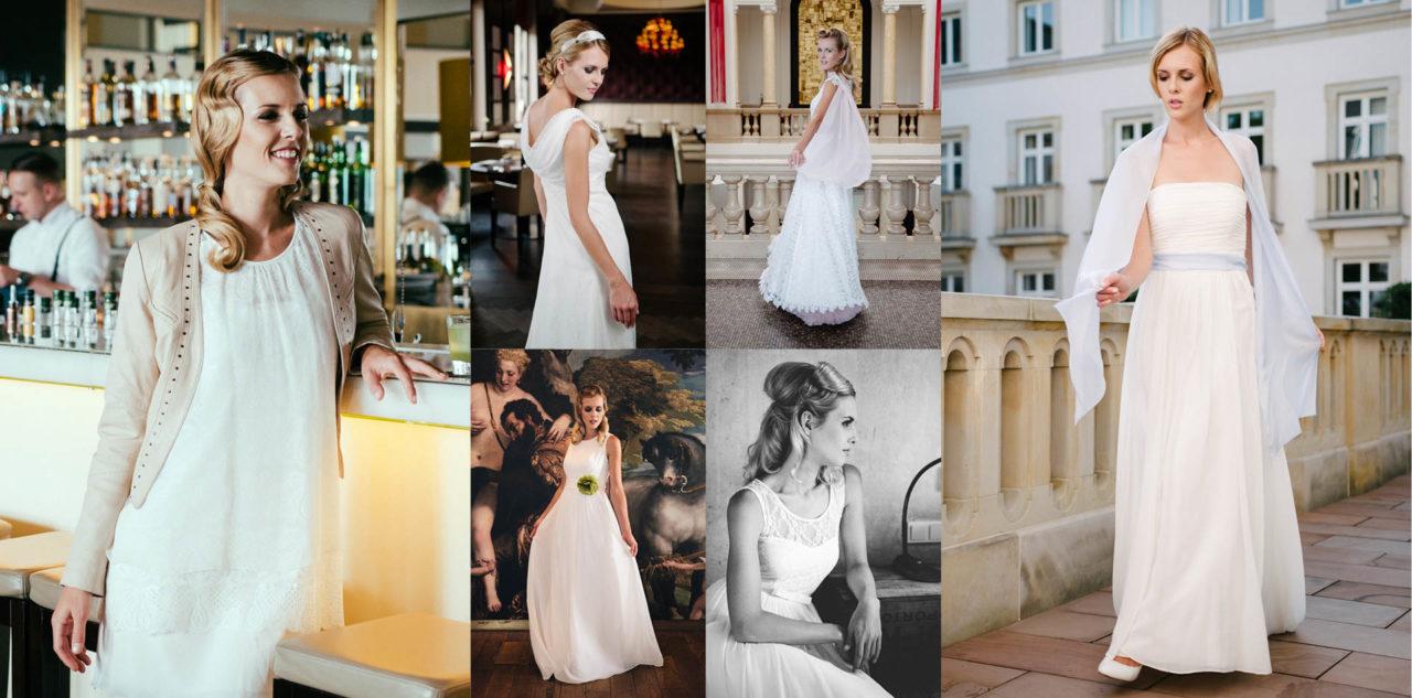 Vintage Brautkleider 20er Jahre