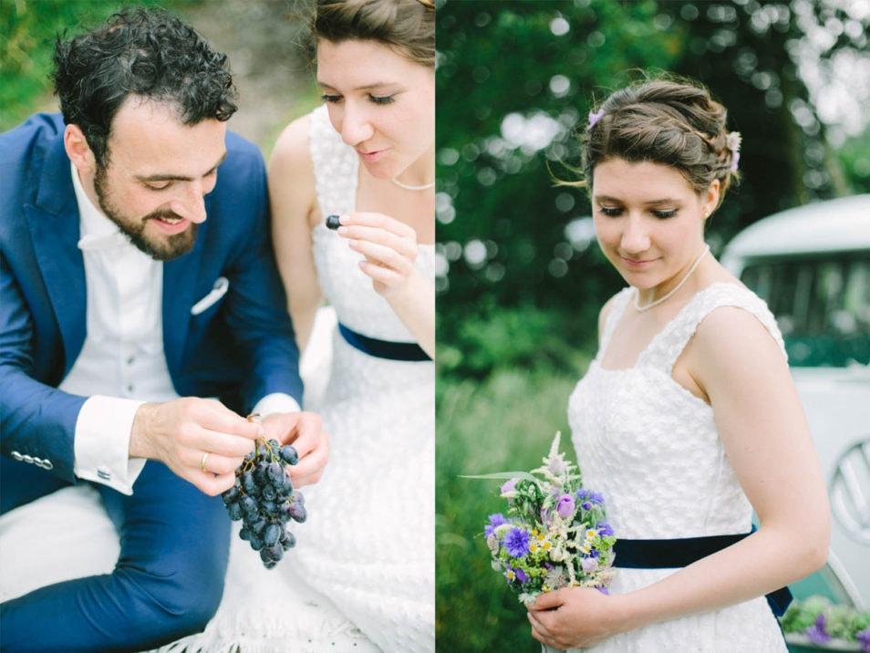 Bilder vom Brautpaar