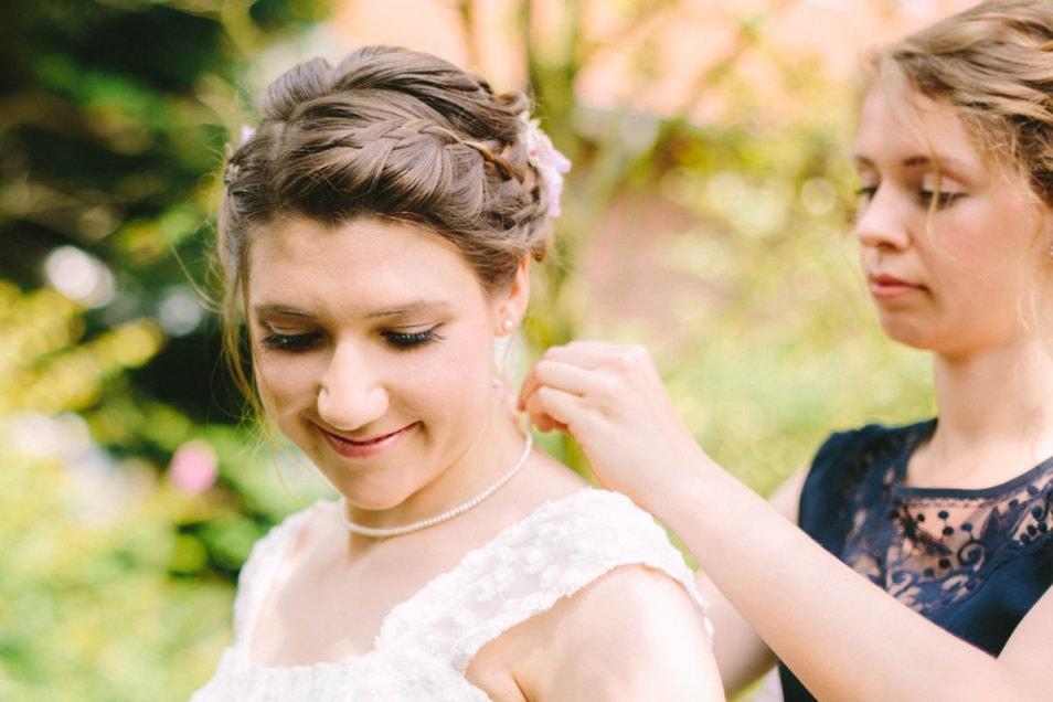 Perlenkette für die Hochzeit